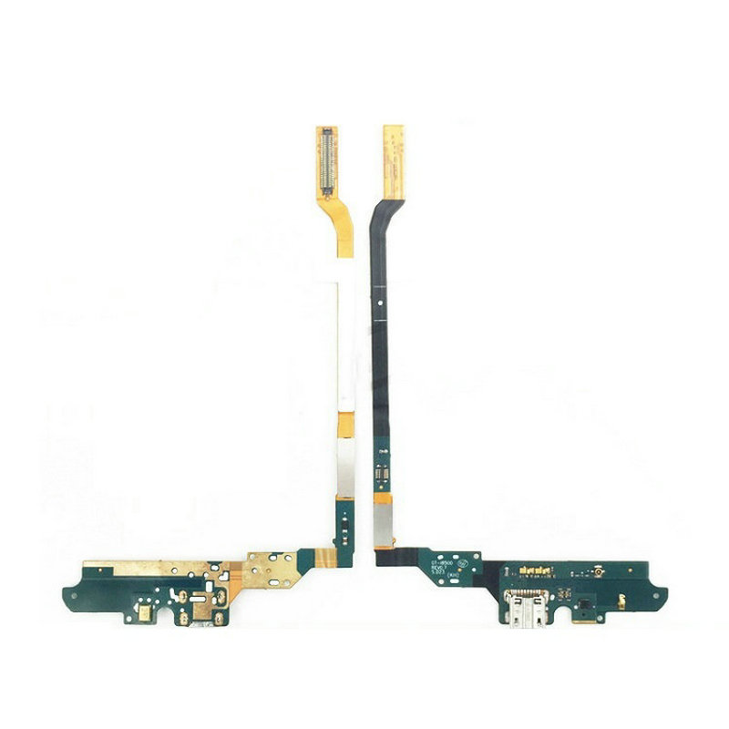 New Microphone Module+USB Charging Port Board Flex Cable Connector Parts For Samsung S4 I9500