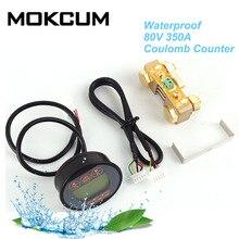 Тестер аккумулятора TR16 80 в 350A 100A 50A, Автомобильный дисплей, детектор емкости лития, счетчик Coulomb, индикатор заряда батареи