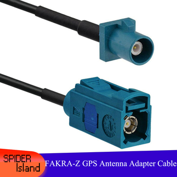 FAKRA-Z Male to Female Connector Cable GPS Antenna Adapter Cable Radio Extension Cable Universal Z Type