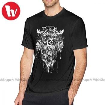 Cannibal Corpse T Shirt Dethklok Metalocalypse T-Shirt Mens Short-Sleeve Tee Printed Cotton Funny Fashion Plus size Tshirt - discount item  42% OFF Tops & Tees