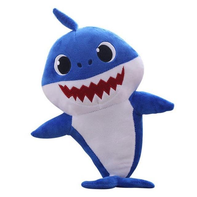 בובה של בייבי שארק מתנות לילד ילדה כחול במבצע לייף דיזיין