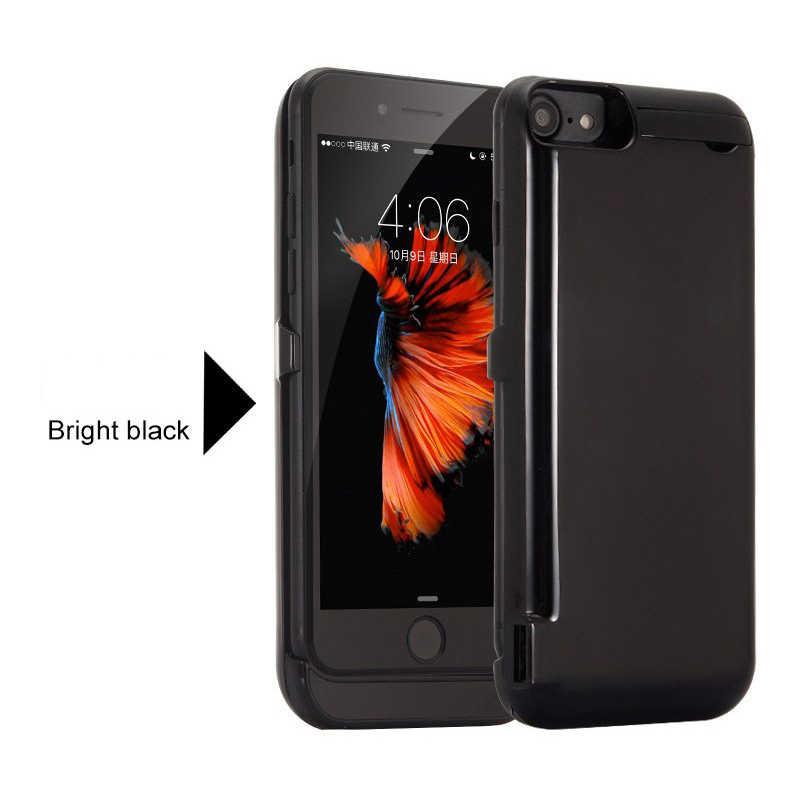 10000mah כוח מקרה עבור iPhone 6 6s 7 בתוספת מקרה סוללה מטען מקרה עבור iPhone 6 6s 7 8 בתוספת כוח בנק טעינת מקרה Powerbank