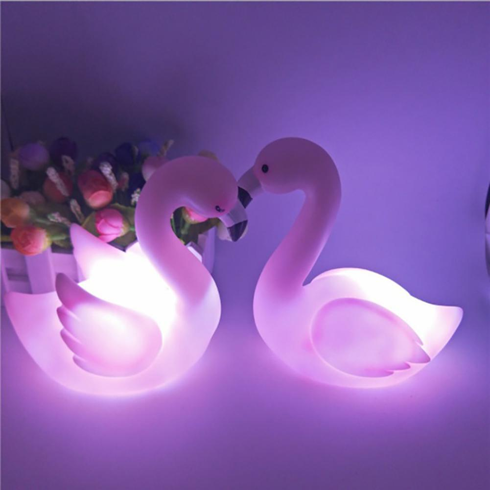 3D LED Night Light Pink Mini Night Light Home Party Decoration Lamp Dessert Lovely Gifts For Kids Birthday