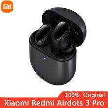 Nuovo Xiaomi Redmi Airdots 3 Pro TWS 35dB riduzione del rumore auricolare Bluetooth basso Stereo 2 con microfono auricolari vivavoce controllo AI