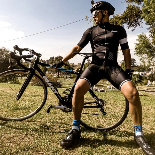 Pro raphaful ciclismo jérsei manga curta kit de roupas bicicleta mtb wear triathlon uniforme maillot raiders jérsei 3