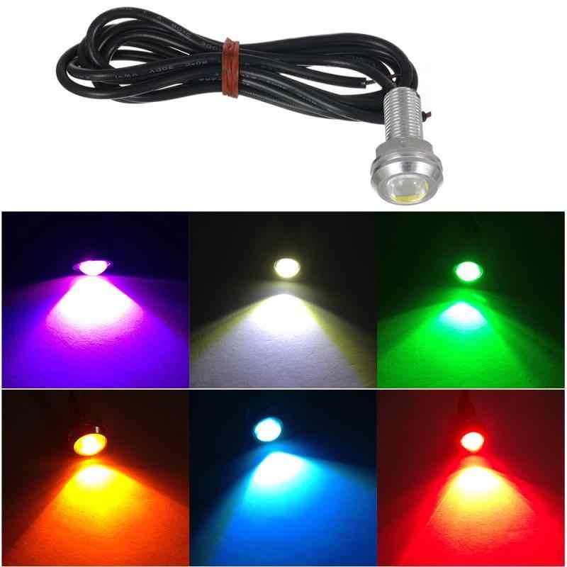 1 PC 12V Eagle Eye LED Light 18 MM Mobil DRL Siang Hari Berjalan Tahan Air Lampu Lampu Backup Lampu Sinyal bulb Mobil Aksesoris