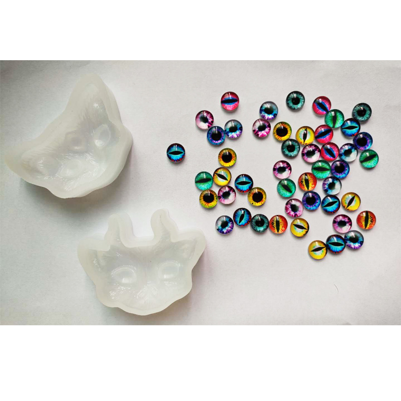 PopularCat Jewelry Mold For Making Jewelry Pendant Necklace Resin Molds DIY Handcarft Epoxy Resin Tools