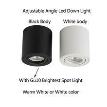 Вращающийся угловой Светодиодный точечный светильник с чрезвычайно