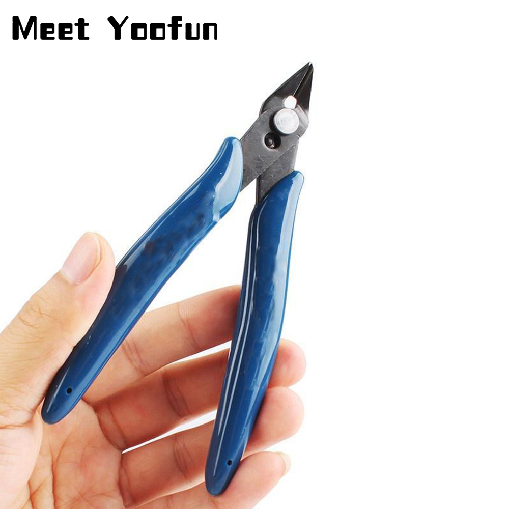 1pcs Electrical Wire Cable Cutters Cutting Side Snips Flush Pliers Nipper Hand Tools