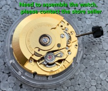 The Swiss original ETA Mechanical Autoamtic movement 2824 2 watch movement date display fit for mens watch white 2824