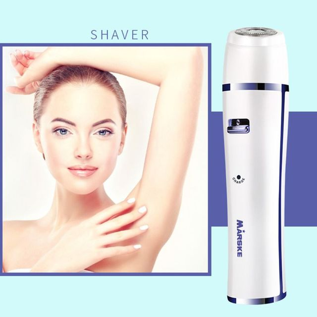 7 in 1 Rechargeable Hair Trimmer Electric Women Ear Nose Eyebrow Shaver Massager D0AB 5