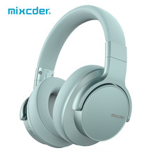 Mixcder E7 Aktive Noise Cancelling Wireless Kopfhörer Bluetooth 5,0 Stereo Bluetooth Headset Schnelle Ladung mit Mic