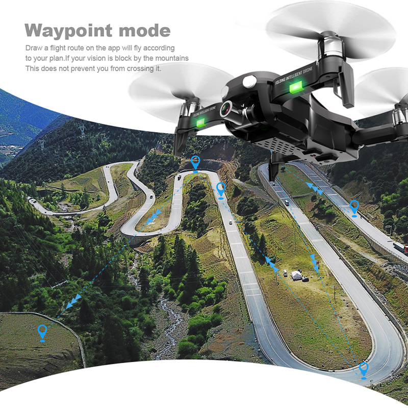 cheapest 2020 New Mini Rc Drone XT6 4K1080P HD Dual Camera WiFi FPV Air Pressure Altitude Hold Foldable Quadcopter Gps Drone for boy toys