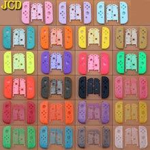 JCD 1 قطعة 23 اللون ل نينتندو سويتش Joy Con استبدال الإسكان شل ل NS JoyCon غطاء ل التبديل Joy Con حافظة/حقيبة ذراع التحكم بالألعاب