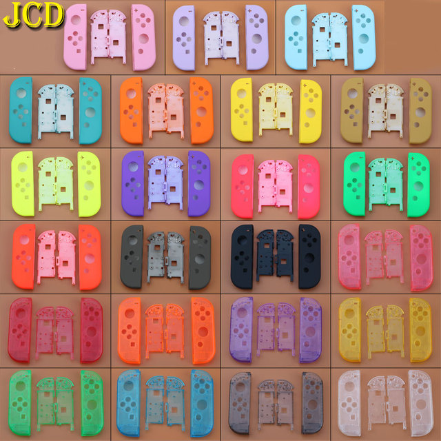 JCD 1PCS 23 Color for Nintend Switch Joy Con Replacement Housing Shell for NS JoyCon Cover for Switch Joy Con Controller Case