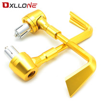 Universal Motorcycle Cnc Aluminum Brake Clutch Lever Protector Hand Guard Suit For Most Motorcycle With 22mm 7/8