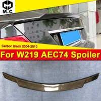 Se encaixa Para 2004-Mercedes 10 W219 4MATIC estilo fibra De Carbono Tronco spoiler asa C74 GLS Classe CLS350 CLS400 CLS500 CLS65S olhar asas