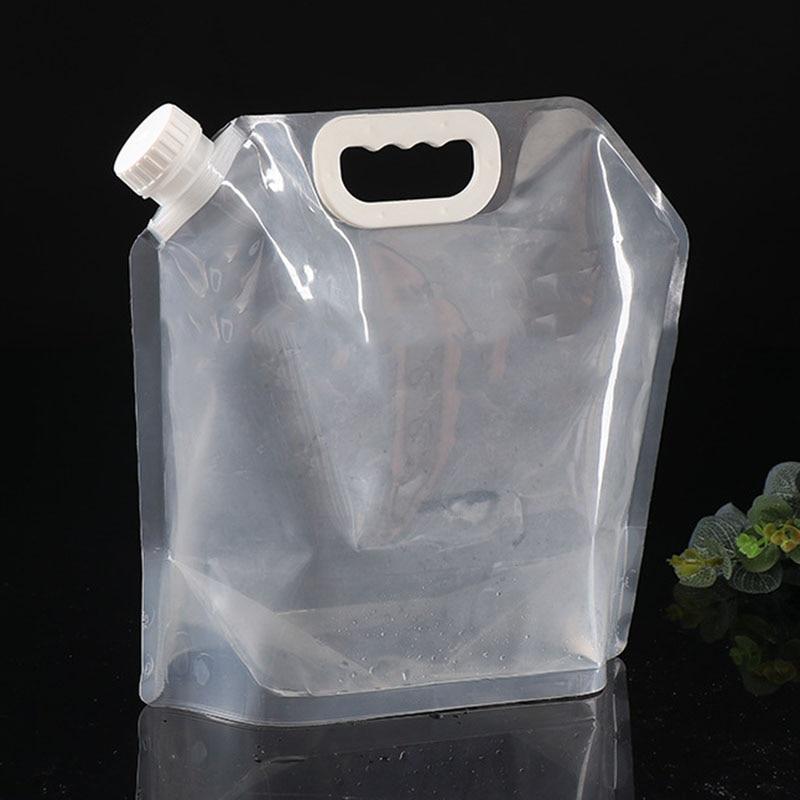 Bebida bebida bolsa agua bote 5 L agua potable bolsa plegable bote