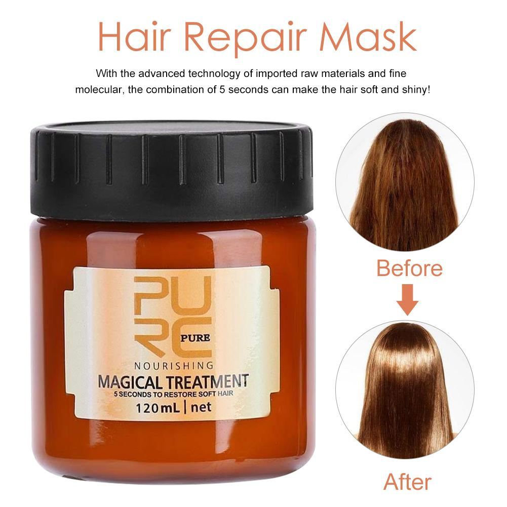 Hair Mask Deep Repair Nutrition Soft Oil Hair Pack Free Steaming Hair Repair Mask