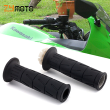 Motorcycle Handlebar Hand Grips Handle Bar Caps For KAWASAKI ZX6R ZX10R ZX9R ZX7R ZX14R NINJA 125/250/300/400/650/1000