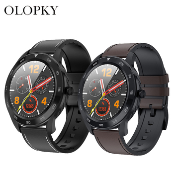 Retail For Women Men Smart Watch DT98 1.3Inch ECG IP68 Waterproof Full Press Screen Sport Fitness Smartwatch Fitness Bracelet