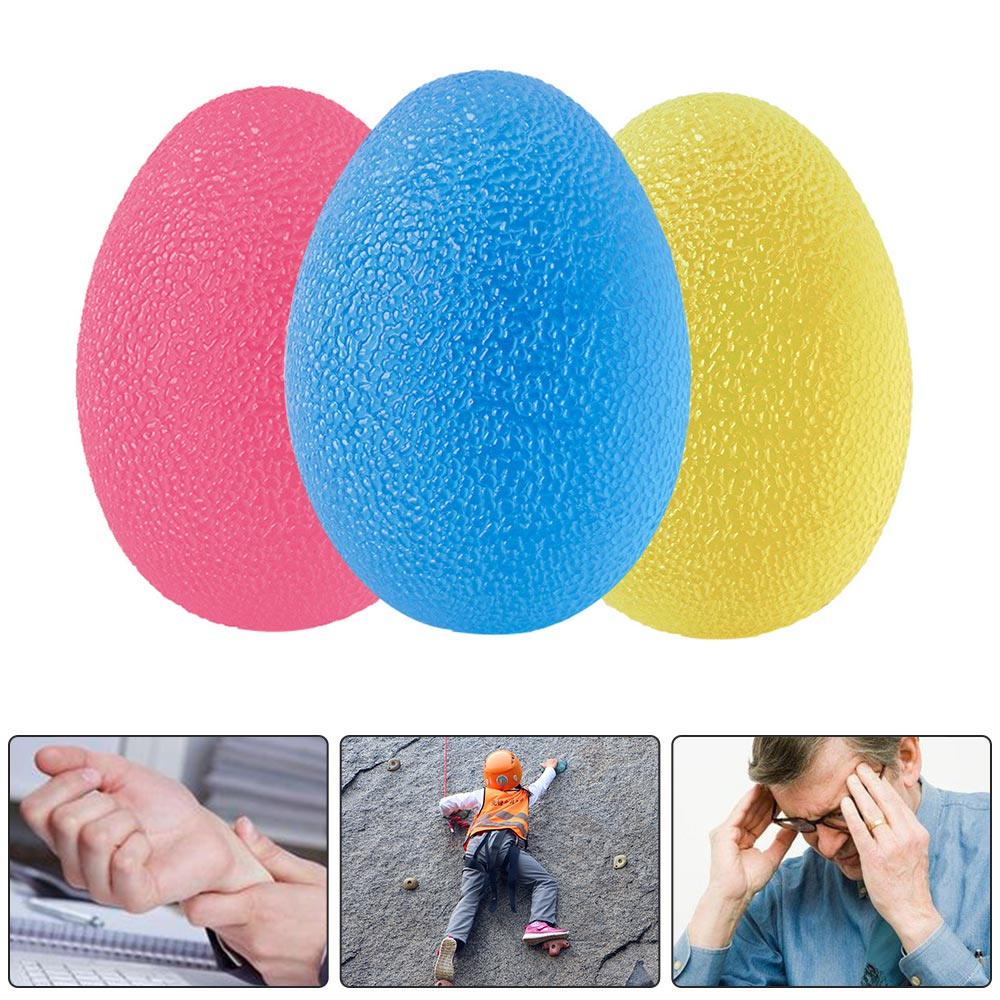 TPE Hand Exercise Ball massage rehabilitation exercise Hands Grip Strength Trainer hand ball Forearm Finger Fitness Accessories