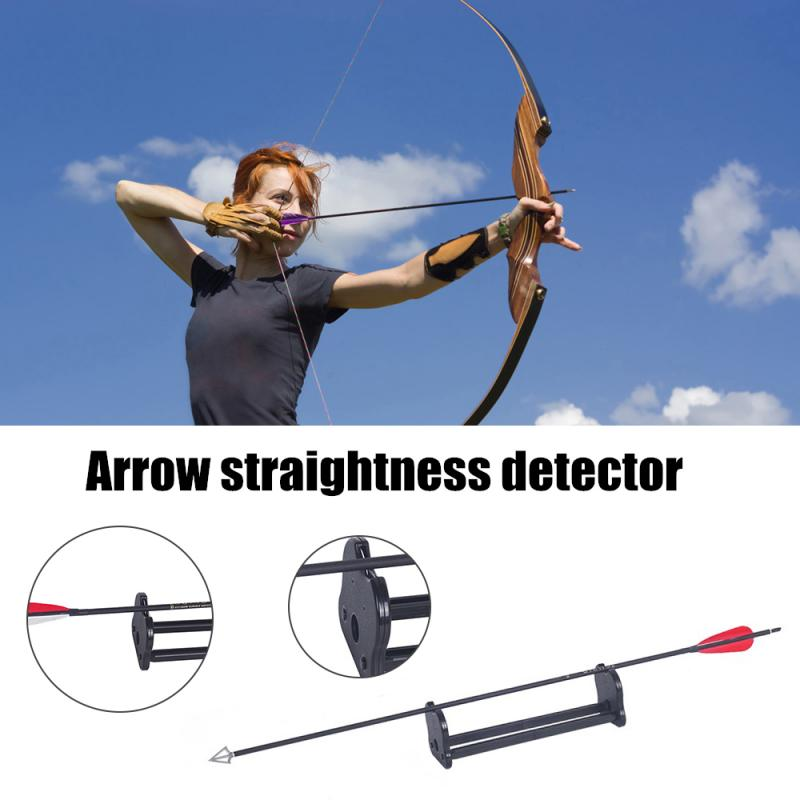 Arrow Detector Detector Arrow Straightness ABS Material Various Arrow General Straightness Detection Tool For Hunting Shooting