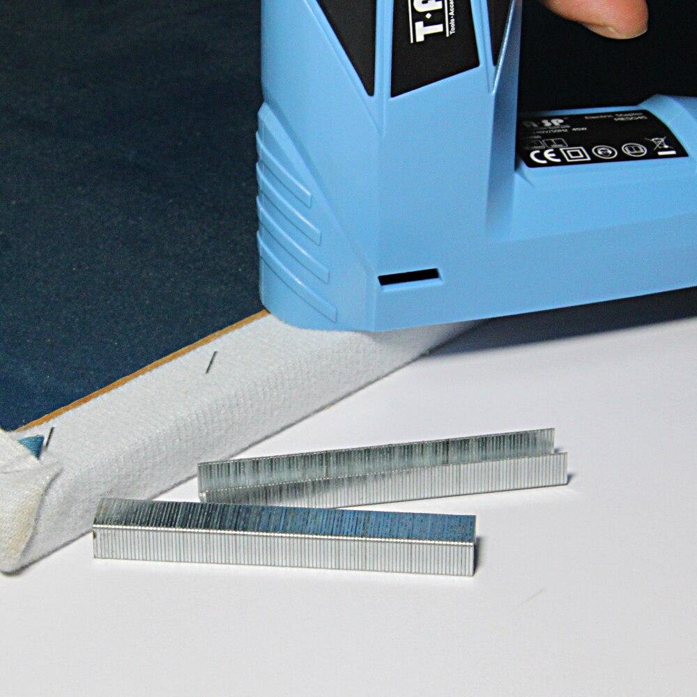 agrafes de type 53 10mm et 6mm 1000 pieces pour agrafeuse electrique mesg45a et agrafeuse manuelle