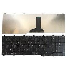 צרפתית מקלדת עבור toshiba לווין C650 C655 C655D C660 C670 L650 L655 L670 L675 L750 L755 l755d שחור מחשב נייד Fr מקלדת