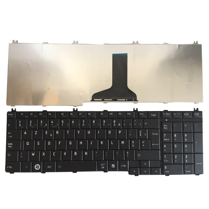 Французская клавиатура для ноутбука toshiba Satellite C650 C655 C655D C660 C670 L650 L655 L670 L675 L750 L755 l755d, Черная Клавиатура Fr