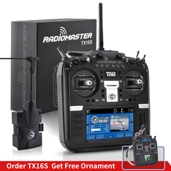 In Stock RadioMaster TX16S TBS Hall SensorRadio Transmitter  Gimbals 2.4G 16CH Multi-protocol RF System OpenTX For RC Drone