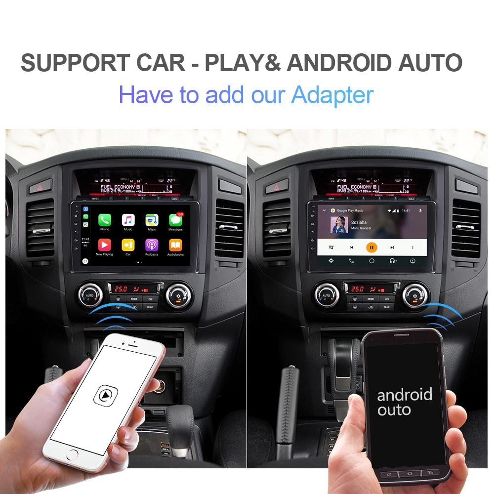 Isudar H53 4G Android 1 Din Auto Radio per Mitsubishi/Pajero 2006 2014 Car Multimedia 8 Core di Ram 4 Gb di Rom 64 Gb di Gps Della Macchina Fotografica Dvr Ips - 3