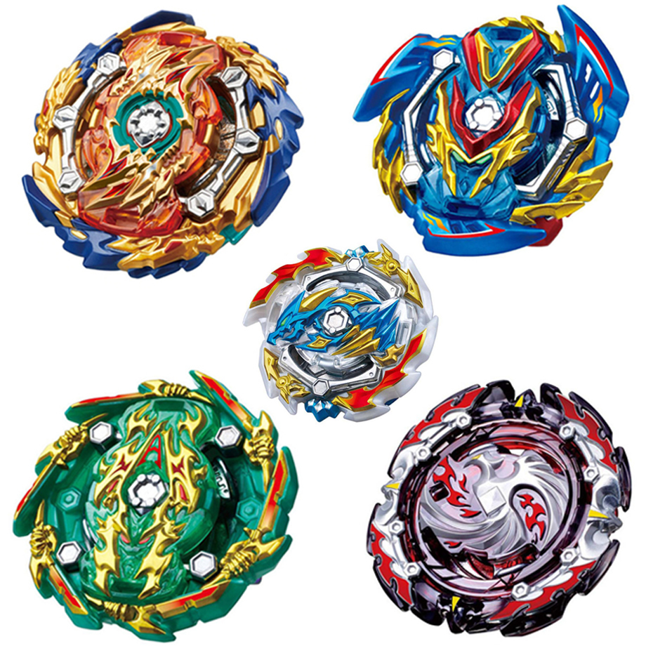Tops Launchers <font><b>Beyblade</b></font> Burst God <font><b>B</b></font>-129 <font><b>B</b></font>-<font><b>133</b></font> <font><b>B</b></font>-144 Bey Blade Blades High Performance Battling Top Toys For Kids Bables Bayblade image