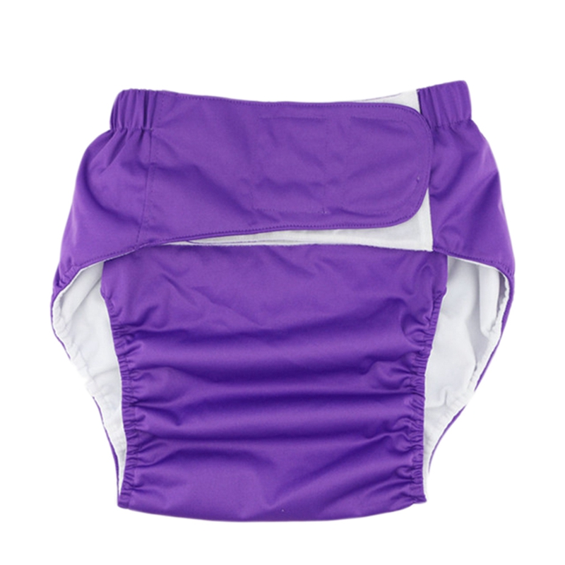 Super Large Reusable Adult Diaper For Old People And Disabled, Size Adjustable Waterproof Incontinence Pants Underwear
