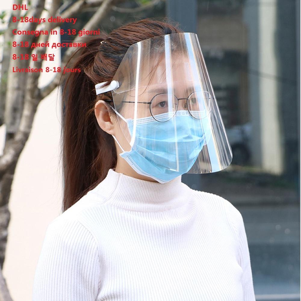 Transparent Safety Anti Splash Dust-proof Protect Full Face Covering Mask Oil-Splash Saliva Masks Protective Mask  Proof