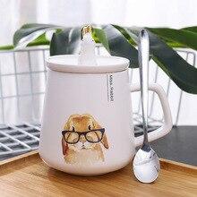 Rabbit Mug Coffee-Cup Ceramic Small Cute Fresh Creative Cartoon Belly Household Big