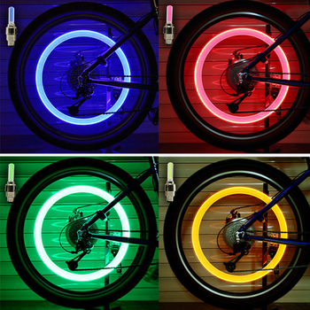1Day ShipNeon Lights Tyre Wheel Valve Cap Light LED Flash Car Tire Valve Caps Air Cover Tire Rim Valve Wheel Stem Cap Bike Light image