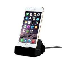 Док-станция IOS зарядная подставка для Apple IPhone 11 Pro Max XS XR X 7 8 6S Plus док-станция для телефона Usb зарядное устройство держатель