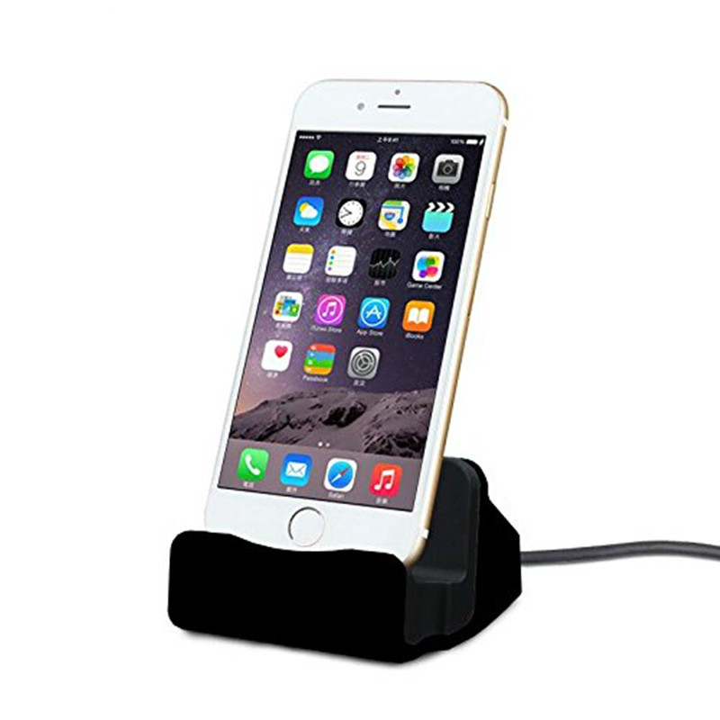 Dock Station IOS Charging Stand For Apple IPhone 11 Pro Max XS XR X 7 8 6S Plus Dockingstation Phone Docking Usb Charger Holder