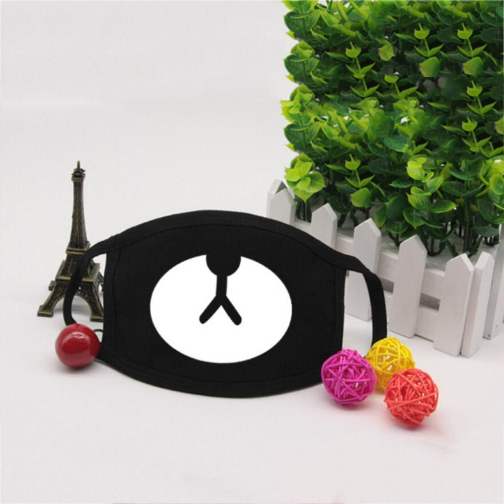 Unisex Cute Fashion Mask Cold Mask Anti-dust Mask Cartoon Face Mouth Mask