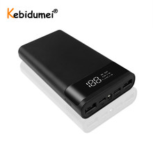 Hot Sale Portable External 5V DIY 6*18650 Case Power Bank Shell Battery Charge Storage Box Without Battery