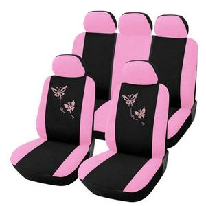 Car Seat Cover Purple Pink But
