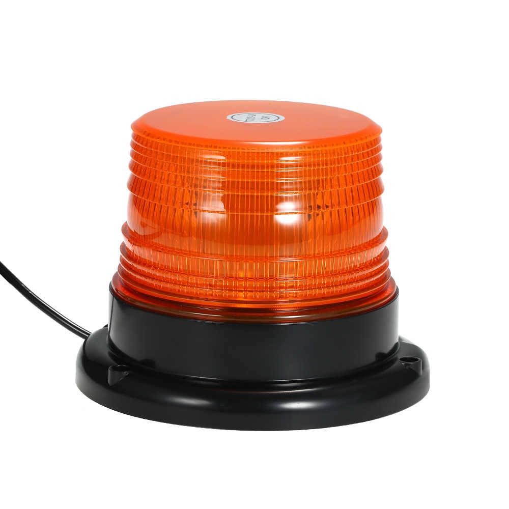LYCOS3 2 Unidades de 8 Luces LED estrobosc/ópicas de Emergencia con Base magn/ética para Accidentes de tr/áfico luz de Advertencia para el Coche riesgos de Carretera y Agua aver/ías