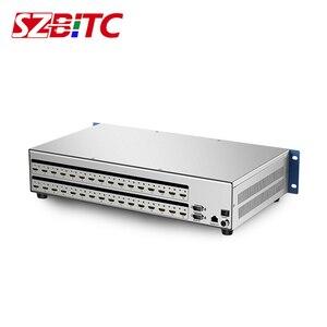 SZBITC 16x16 HDMI матрица 4x 4 8 x8 Видео Матричный коммутатор 4K HDMI сплиттер EDID RS232 TCP/IP пульт дистанционного управления 2U для Blu-Ray DVD