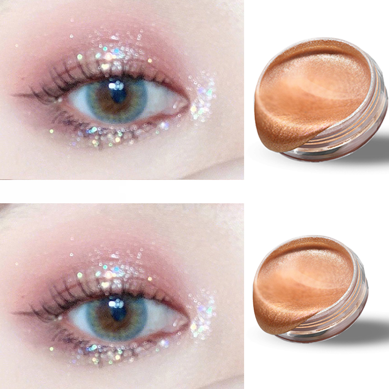 New Arrival Charming Shiny Eyeshadow Palette 9 Color Make Up Palette Shiny Shimmer Pigmented Eye Shadow Powder Beauty Glazed