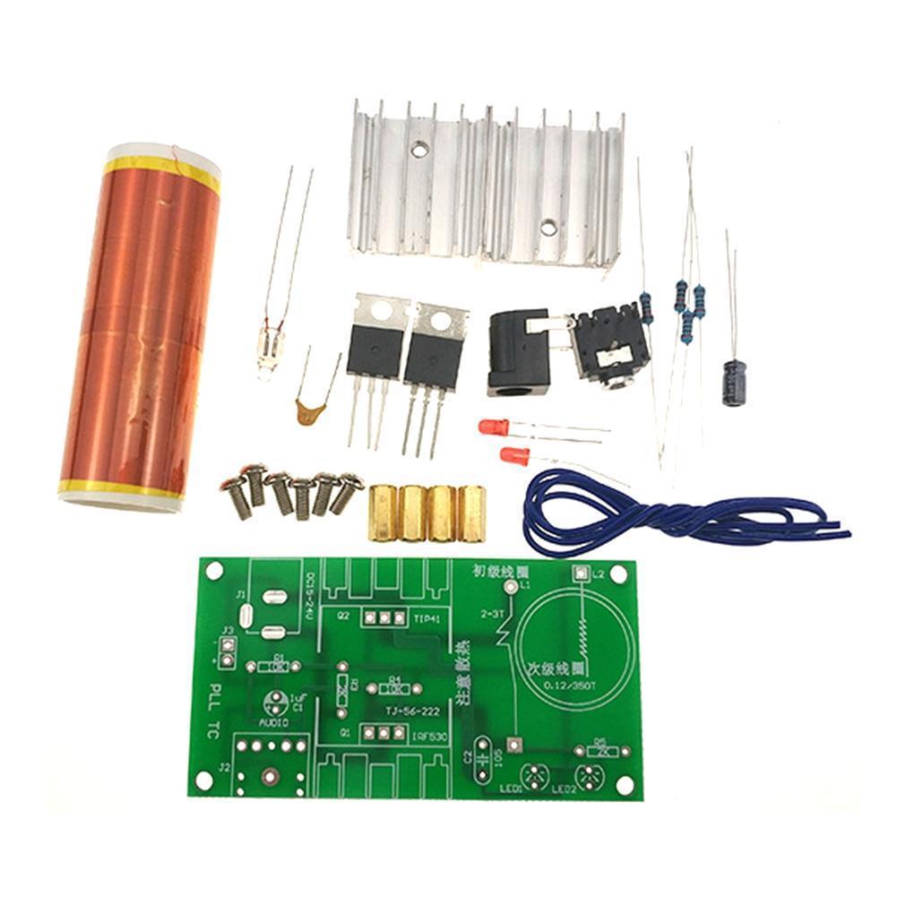 Coil Kit Mini Music Plasma Horn Speaker Wireless Transmission Component Parts Electronic DIY Coil DIY Kit O3L8