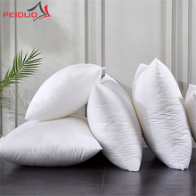 Decorative Pillows Cushions Pouffe Living-Room 50x50 Fluffy White PEIDUO