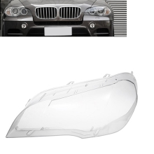 Автомобильная прозрачная фара крышка объектива Замена фары головной свет лампы оболочки крышка для BMW X5 E70 2008-2013