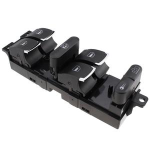 Хромированный переключатель контроллера для окон VW Jetta Golf GTI MK4 Passat B5, боковые драйверы 3BD959857 3BD 959 857 1998-2005 Banwinoto