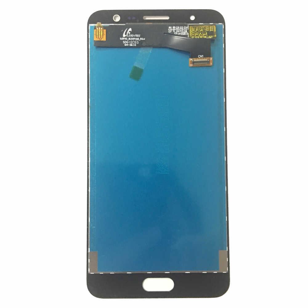 Ban Đầu LCD Dành Cho Samsung Galaxy Samsung Galaxy J7 Thủ Màn Hình LCD SM- G610 G610F G610M G610 Màn Hình LCD Hiển Thị Màn Hình Cảm Ứng bộ Số Hóa